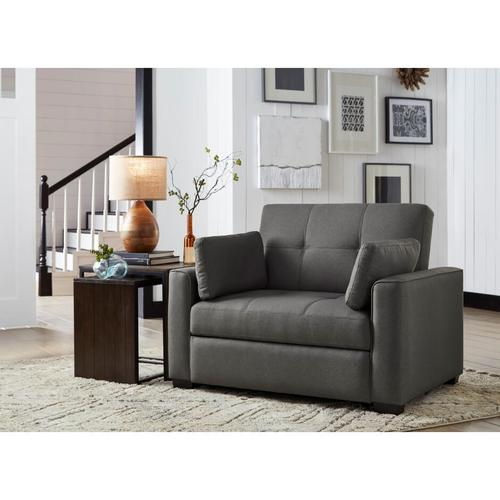 Newport Convertible Sofa Grey Twin