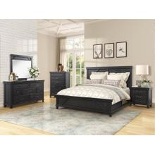 BERNARDS 1708-130-140-105-HQ-FQ-RL Vintage Spruce Creek 3-Piece Bedroom Group - Queen Panel Bed, Dresser & Mirror