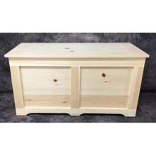 Maine Made Hope Chest 42 42W X 22H X 18D Pine Unfinished