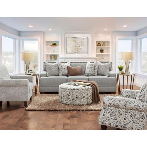 Product Image - BC8700  Sofa, Loveseat, Chair and Ottoman - Bates Charcoal