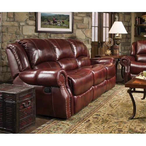CORINTHIAN 99902-30G El Paso Walnut Reclining Sofa, Glider Reclining Loveseat And Rocker Recliner Group