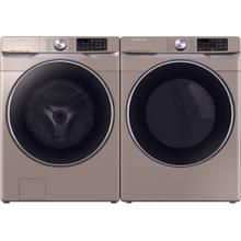 Samsung Champagne SALE Front Load Washer & Gas Dryer