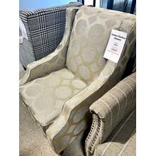 See Details - Sanders Taupe Accent Chair