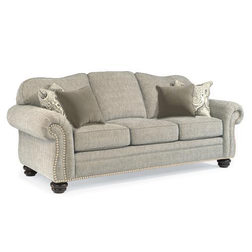 Bexley Fabric Sofa with Nailhead Trim