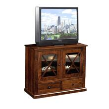 "40"" Brandy Wine TV Stand"