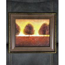 Framed Wall Art - Trees in the Sunset