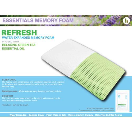 Essentials Memory Foam - Refresh