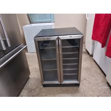USED STAINLESS DANBY BEVERAGE CENTER  #32
