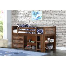 "Artesian Low Loft Bed w"" Storage #2"
