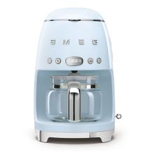 Smeg 50s Retro Style Design Aesthetic Coffee Machine, Pastel Blue