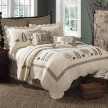 Bear Creek King Quilt Set