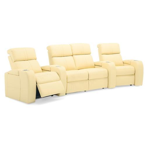 Palliser - Flicks Home Theatre Seat with Power Headrest