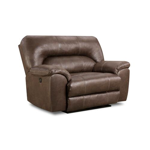 American Furniture Manufacturing - Stallion Saddle 3PC Set: Reclining Sofa, Reclining Loveseat & Recliner (AF740)