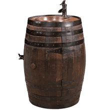 Amish Barrel Vanity