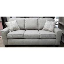 See Details - Annabel Sofa in Fog with 2 pilows in Porcini