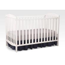 Capri 3-in-1-Crib, White