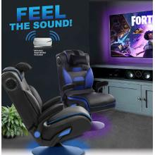 View Product - 2 Immersive Sound Gaming Chair/Rockers with Built-in Sound and Shaker