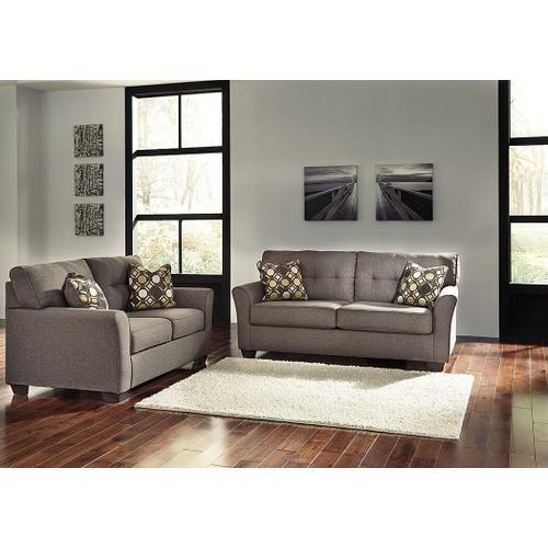 Tibbee Sofa and Loveseat