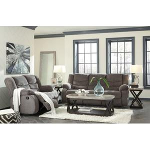 Packages - Tulen- Gray Reclining Sofa and Loveseat