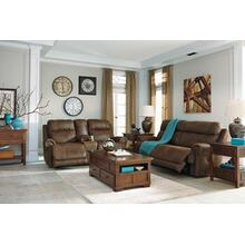 Austere- Brown Power Reclining Sofa and Loveseat
