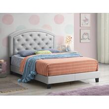 See Details - Crown Mark 5269 Gaby Silver Full Bed