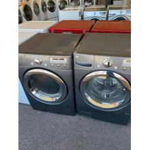Refurbished Grey Electric LG Washer Dryer Set. Please call store if you would like additional pictures. This set carries our 6 month warranty, MANUFACTURER WARRANTY AND REBATES ARE NOT VALID (Sold only as a set)