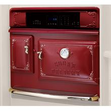 Antique Style 30 Self-Cleaning 5.0 Cu. Ft. Convection Wall Oven - CAYENNE PEPPER RED