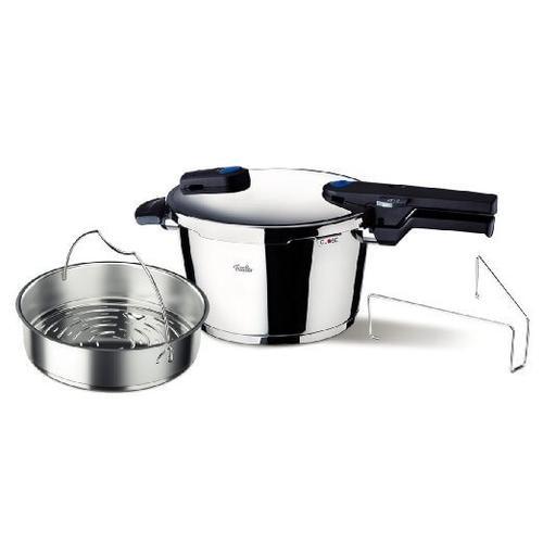 Fissler Vitaquick Pressure Cooker, 4.8qt