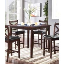Milo Counter Dining Table and Bench with 4 Chairs