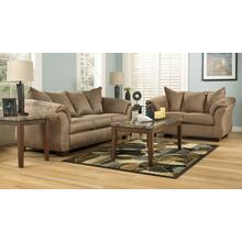 Darcy Collection - Mocha Sofa and Love Seat