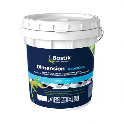 Bostik - Bostik Dimension RapidCure Grout-9LBS