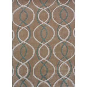Persian Weaver - Concepts Collection Beige 5x8 Rug
