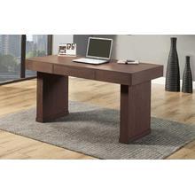 Denver Brown Oak Writing Desk