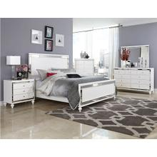 Alonza Qn Bed, Dresser, Mirror and Nightstand