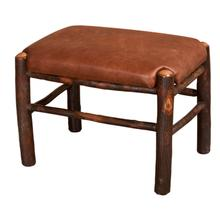 Fireside Foot Stool - Leather