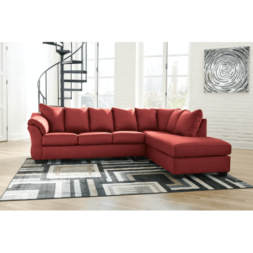 Darcy - Salsa  2-Piece Sectional with Right Facing Chaise