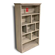 "See Details - 66"" Delaverria Rustic Ideal Bookcase"