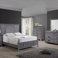 4 piece farmhouse Queen bedroom set