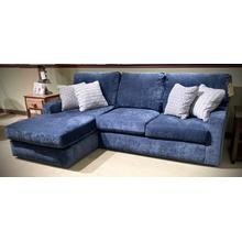 DOVELY Stationary Chaise Sofa in Indigo           (M25N)