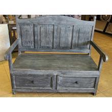 See Details - DBW-SAL 13   Storage Bench - Dark Gray