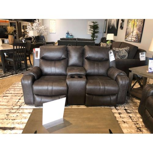 Marvel Power Reclining Console Loveseat