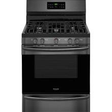 "Frigidaire Black Stainless 30"" Gas Range with Convection"