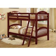 See Details - CHERRY TWIN/TWIN BUNKBED