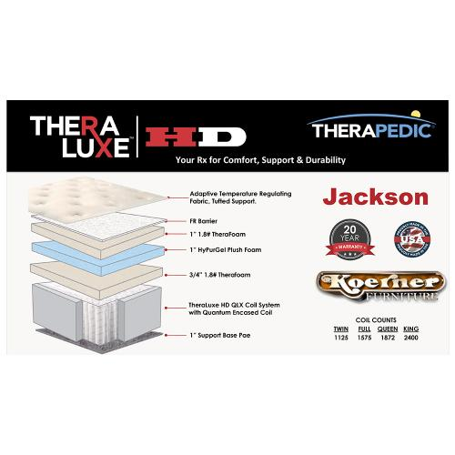 Therapedic - Theralux HD - Jackson - Queen