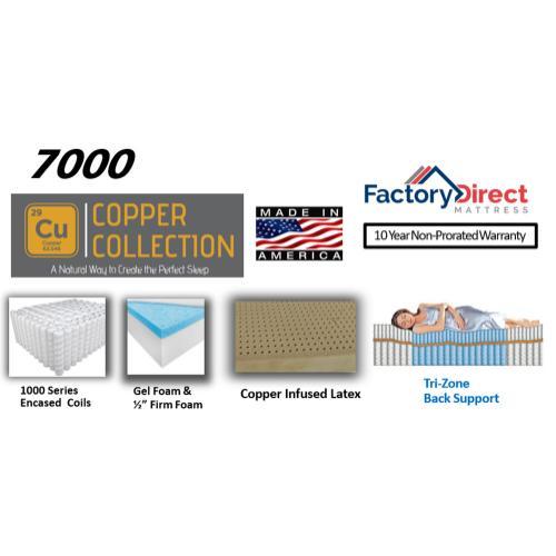 Factory Direct Mattress - 8000 - Firm