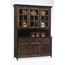 3 Door Lexington Shaker Hutch