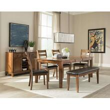 Intercon Dining Room 5-Pc Set Kona leg Table