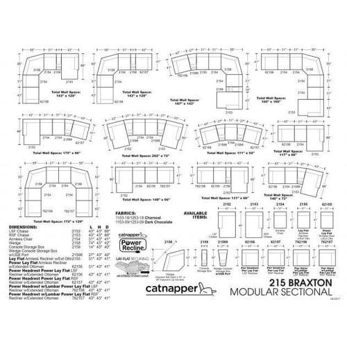 BRAXTON modular sectional