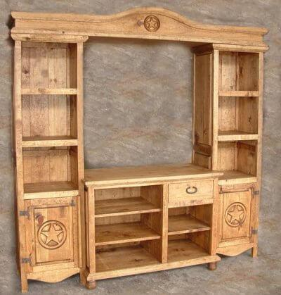 Gallery - 4 Pc. Entertainment Center w/ Star (RP)