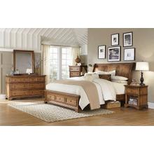 ALDER CREEK Queen Sleigh Storage Bed
